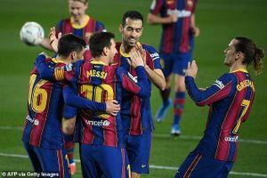 Messi bùng nổ, Barcelona thắng đậm Getafe