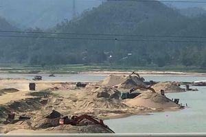 Quảng Nam lập đoàn kiểm tra các mỏ khai thác khoáng sản