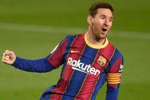 Messi tỏa sáng trong trận thắng đậm của Barca