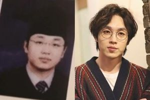 Hình ảnh sau khi giảm 30 kg của nam ca sĩ Hàn