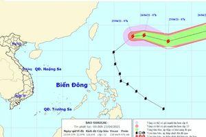 Bão Surigae không đi vào Biển Đông