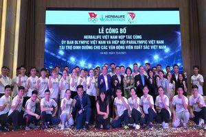 Herbalife tài trợ dinh dưỡng cho 150 VĐV xuất sắc Việt Nam