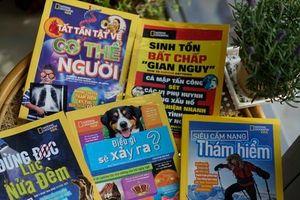 Ra mắt bản tiếng Việt bộ sách quốc tế đình đám 'National Geographic Kids'