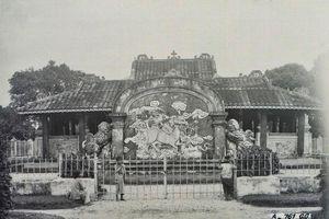 Hình độc về lăng Cha Cả ở Sài Gòn thập niên 1920