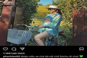 'Vợ thiếu gia Cocobay' bất ngờ khoe siêu xe, netizen cười ngặt nghẽo