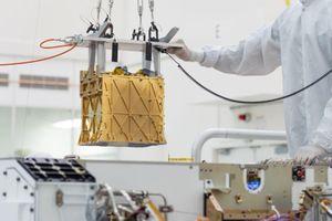 NASA lần đầu tiên tạo ra oxy trên sao Hỏa