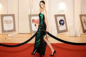 Cao Thùy Trang đẹp sang chảnh tại Đại Hội Mỹ Nam 8, không ngại chuyện 'đụng hàng' Kiều Ngân, Hoài Sa