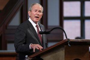 Cựu Tổng thống Bush tiết lộ người ông lựa chọn trong cuộc bầu cử 2020, không phải ông Trump hay ông Biden