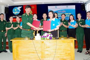 Tiếp tục phối hợp thực hiện Chương trình 'Đồng hành cùng phụ nữ biên cương' trên biên giới tỉnh Quảng Bình