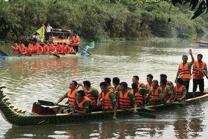 Hải Phòng: Tưng bừng Lễ hội truyền thống giải đua thuyền rồng Cup Sơn Sannet trên sông Hòn Ngọc