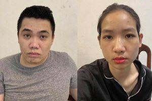 Cặp đôi có tiền án, tiền sự về ma túy lại tiếp tục vướng vào 'hàng trắng'