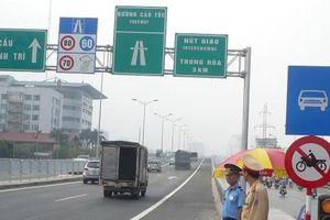 Cấm toàn bộ phương tiện ở đường trên cao Vành đai 3