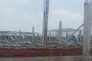 Nguyên nhân vụ sập công trình trong KCN ở huyện Hải Hà
