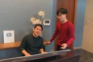 Lần đầu Trọng Tấn hát cùng con trai trên sóng VTV