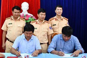 Quảng Nam: Tuyên truyền an toàn giao thông cho các doanh nghiệp vận tải