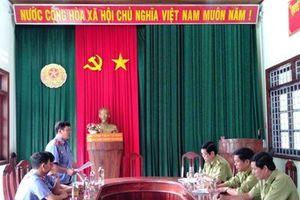 Trực tiếp kiểm sát tiếp nhận, giải quyết tin về tội phạm tại Hạt Kiểm lâm huyện Kông Chro