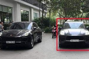 Hà Nội: Công an truy tìm người điều khiển xe Porsche biển giả