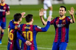 Messi lập cú đúp giúp Barca có chiến thắng tưng bừng