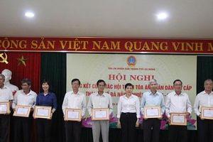 Hội nghị tổng kết công tác Hội thẩm TAND hai cấp TP Đà Nẵng