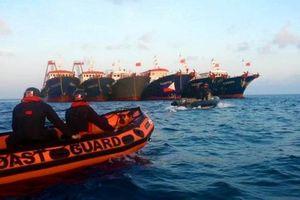 160 tàu Trung Quốc vẫn hiện diện trên Biển Đông, Philippines tiếp tục trao công hàm phản đối