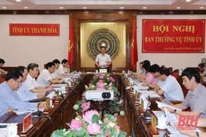 Ban Thường vụ Tỉnh ủy cho ý kiến vào chương trình, kế hoạch hành động để cụ thể hóa các nghị quyết của Đảng