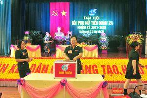 Sư đoàn 325 tổ chức điểm Đại hội Phụ nữ cấp cơ sở