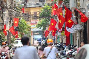 Hà Nội: Treo cờ Tổ quốc và nhiều hoạt động dịp lễ 30-4, 1-5