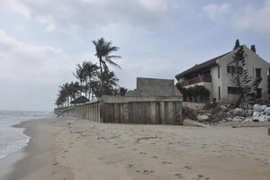 Quảng Nam đầu tư 145 tỷ đồng kè 1,8 km bảo vệ bãi biển Cửa Đại