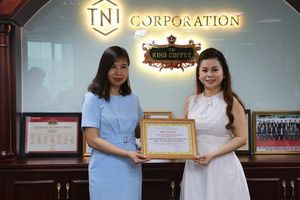 Lãnh đạo và nhân viên TNI King Coffee tham gia hiến máu nhân đạo
