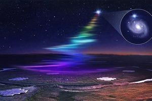 Trái đất nhận tín hiệu 'cầu vồng' từ người ngoài hành tinh?