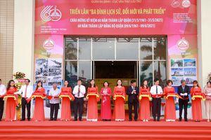 Hà Nội: Khai mạc triển lãm 'Ba Đình lịch sử, đổi mới và phát triển'