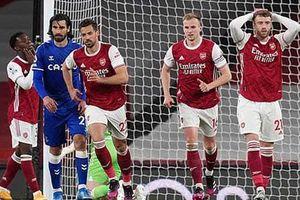Điểm nhấn Arsenal 0-1 Everton: Europa League, độc đạo đến Champions League của Pháo thủ