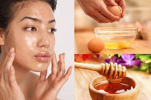Da đẹp chỉ bằng cách sử dụng trứng gà mật ong