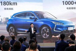 Nhà sản xuất điện thoại Huawei ra mắt ô tô đầu tiên Huawei Seres SF5