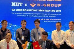 K-Group hợp tác NIIT đào tạo AI, IoT để giải 'cơn khát' nhân lực công nghệ thông tin