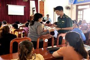Bình Thuận: Tuyên truyền kiến thức cho ngư dân huyện đảo Phú Quý