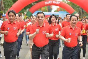 Hà Nội phát động Ngày chạy Olympic