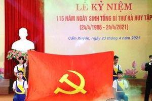Kỷ niệm 115 năm Ngày sinh cố Tổng Bí thư Hà Huy Tập