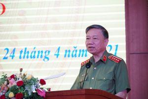Bộ trưởng Tô Lâm dự kỷ niệm 75 năm Ngày thành lập Ty Công an Hải Dương