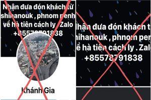 Bị đồng hương lừa 'bao về Việt Nam trốn dịch'