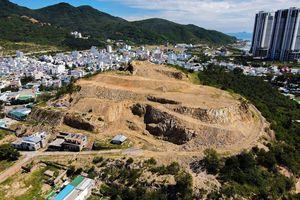 Hàng chục dự án đua nhau cạo trọc đồi núi Nha Trang