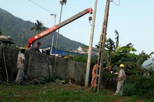 Tự ý vào nhà dân trồng cột điện, điện lực Lai Châu phải sửa sai