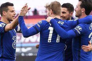 Werner lập công sau 70 ngày, Chelsea bay cao Top 4 Ngoại hạng Anh