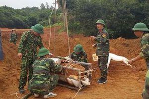 Vĩnh Phúc: Hủy nổ an toàn quả bom nặng hơn 300 kg sót lại sau chiến tranh
