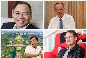 Bí ẩn đằng sau những biệt danh ít biết của đại gia Việt