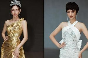 Lương Thùy Linh diện váy dạ hội lộng lẫy tựa 'nữ thần', Kiều Loan cá tính với tóc tém