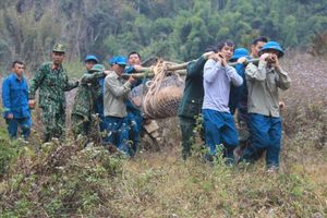 Vĩnh Phúc: Hủy nổ thành công quả bom 340 kg