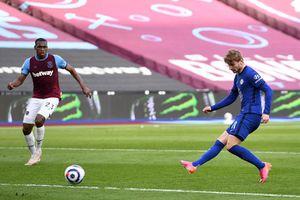 Werner ghi bàn duy nhất, Chelsea cắt đuôi West Ham trong cuộc đua top 4