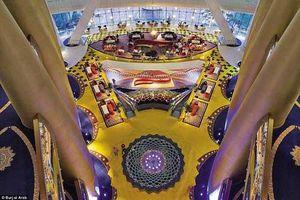 Khám phá bên trong khách sạn sang trọng nhất thế giới ở Dubai