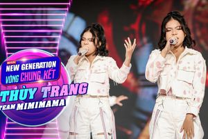 Chung kết GHVN New Generation: Thùy Trang trình diễn bùng nổ khiến Hồ Hoài Anh - Lưu Hương Giang tự hào
